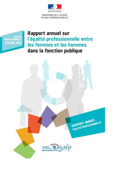 Rapport annuel sur l'égalité professionnelle entre les femmes et les hommes dans la fonction publique
