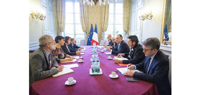 L'Alliance du Trèfle a rencontré le ministre le 13 novembre