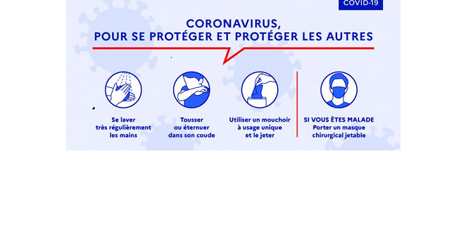 Conséquences de l'épidémie de Covid-19 : réunion du 25 mars 2020